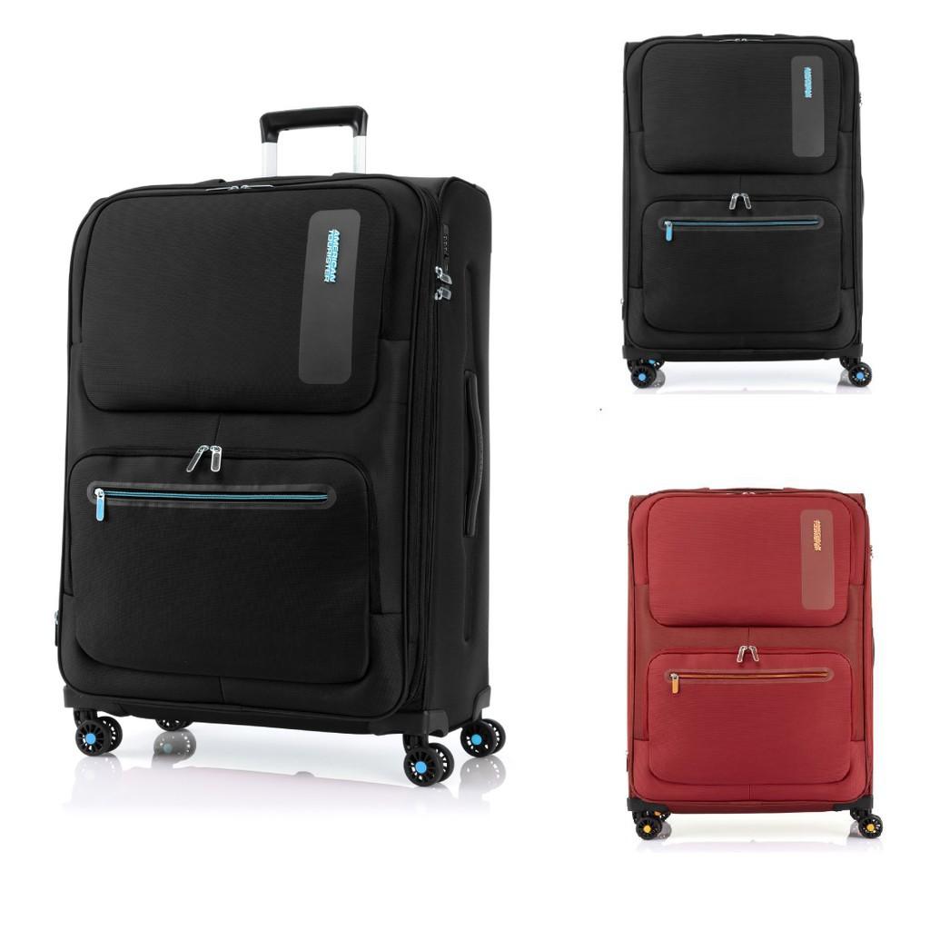 กระเป๋าเดินทาง กระเป๋าเดินทางล้อลาก AMERICAN TOURISTER (30นิ้ว) รุ่น MAXWELL SPINNER 81/30  กระเป๋าล้อลาก กระเป๋าเดินทาง