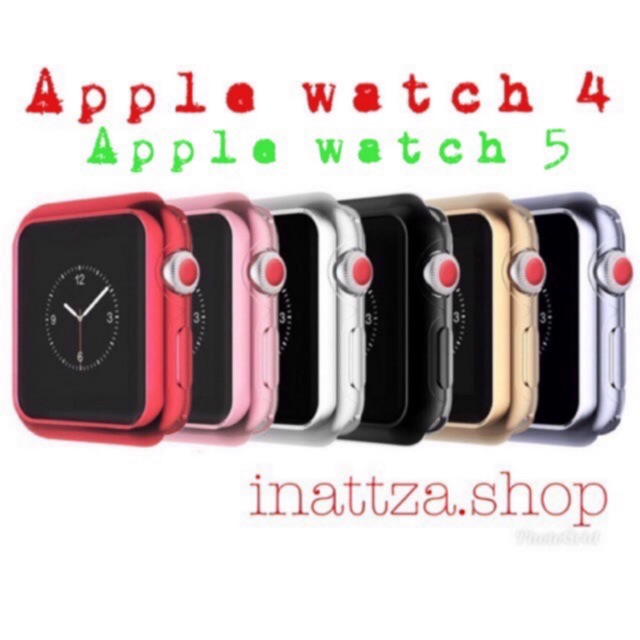 <พร้อมส่ง>⌚️40MM-ซีรีย์ 4/5-เคส TPU แอปเปิ้ลวอทซ์  (40mm-case apple watch series 4)