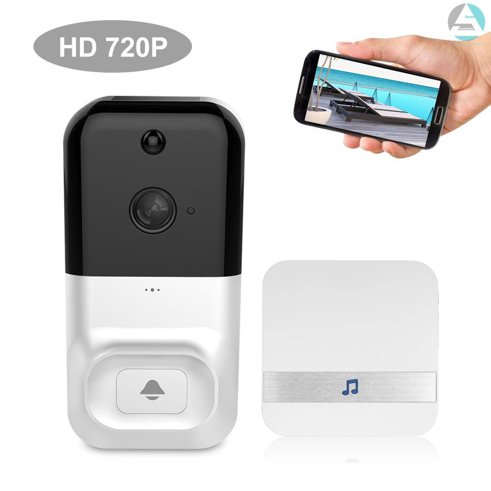 Smart WIFI Visual Doorbell Wireless HD Video Home Security Night Vision Remote