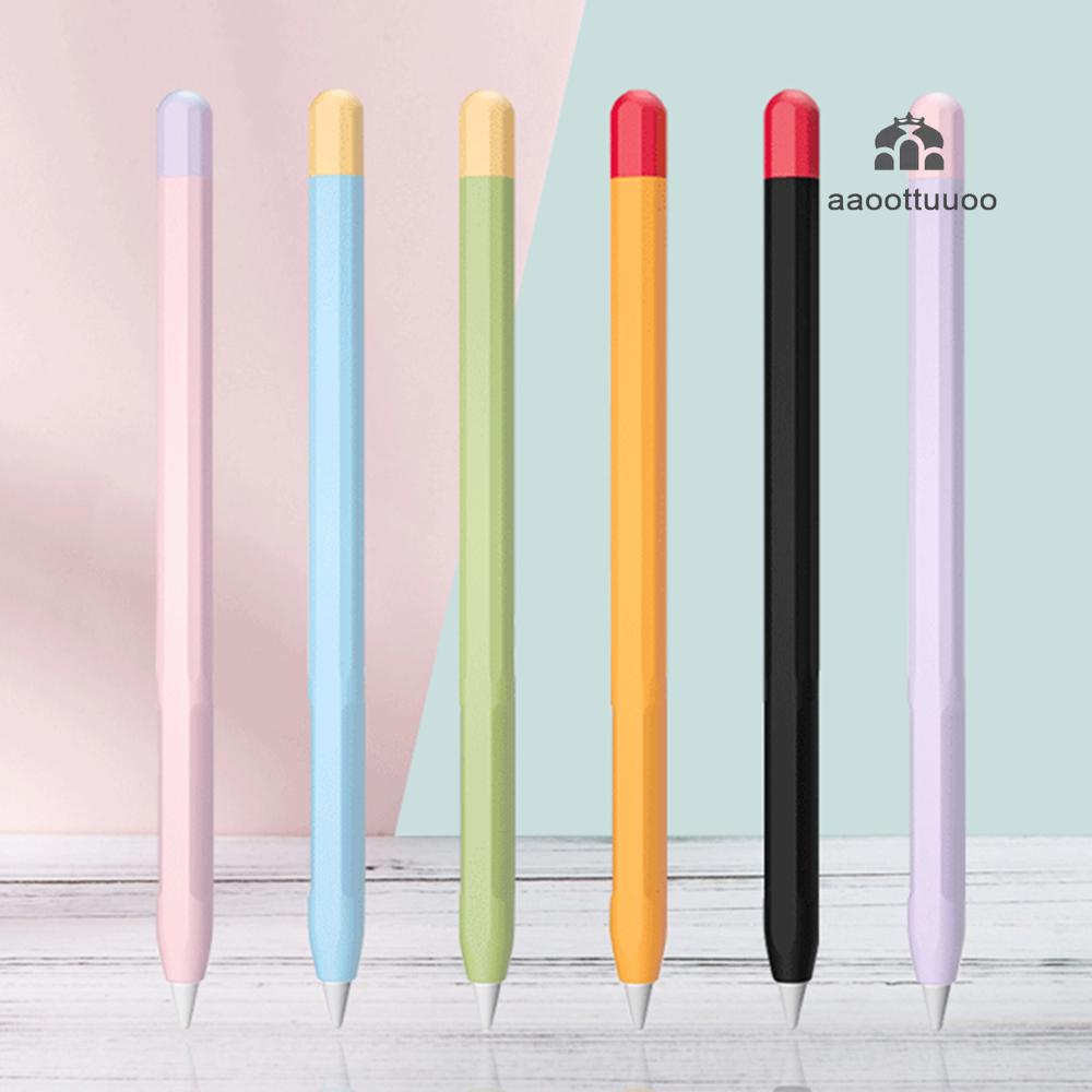 Soft Silicone Apple Pencil Case For Apple Pencil 1 2 Generation Pencil Skin iPad Pencil Cover Accessories