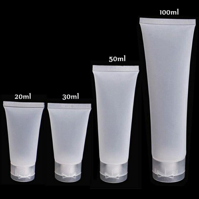 ⭕W(ถูกมาก!!) หลอดใส่เจลล้างมือ หลอดสบู่เหลว หลอดเปล่า(S02) หลอดใส่แอลกอฮอล์เจล หลอดแบ่งครีม