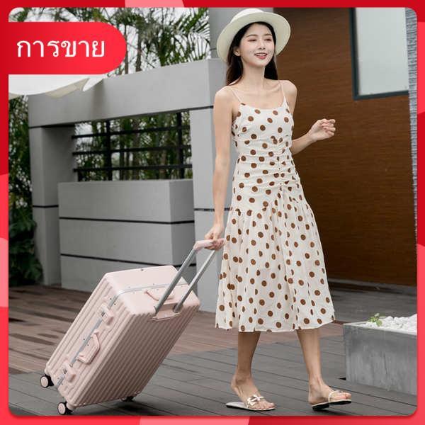 ส่งออกกระเป๋าเดินทางญี่ปุ่นหญิง 20 นิ้วสุทธิแดงอินสากลล้อเฟรมอลูมิเนียม 22 นิ้วกรณีรถเข็น pc24 นิ้วเงียบตัวผู้