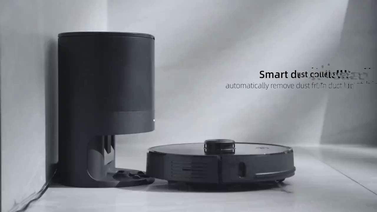 Proscenic M7 Pro ตัวเลือกที่ดีกว่า แปรง2ด้าน พร้อมกล่องเก็บฝุ่น 2700PA 24 เซ็นเซอร์ หุ่นยนต์ดูดฝุ่น หุ่นยนต์ทำความ