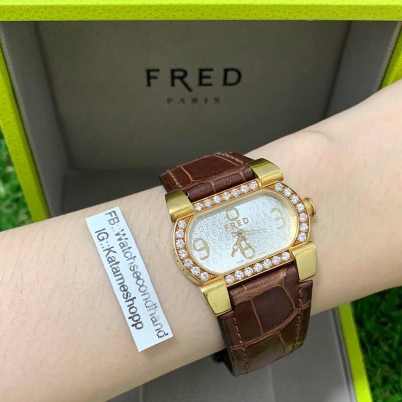 34558. แบรนด์ Fred ทอง18K เพชรแท้ ราคา :: 65,000 บาท ตัวเรือน :: ทอง18K