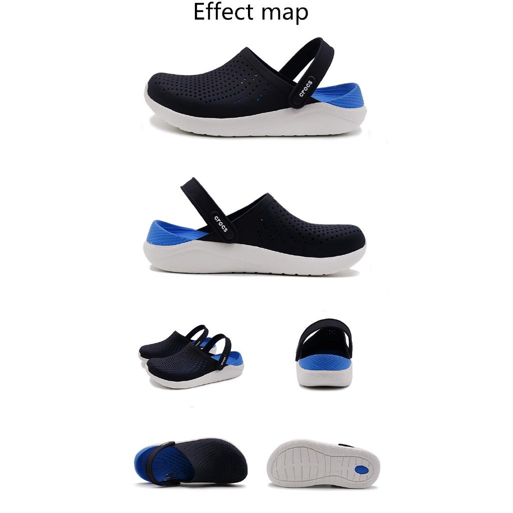 ของแท้จุด Crocs LiteRide รองเท้าชายหาด, รองเท้าหลุม, รองเท้าลำลอง