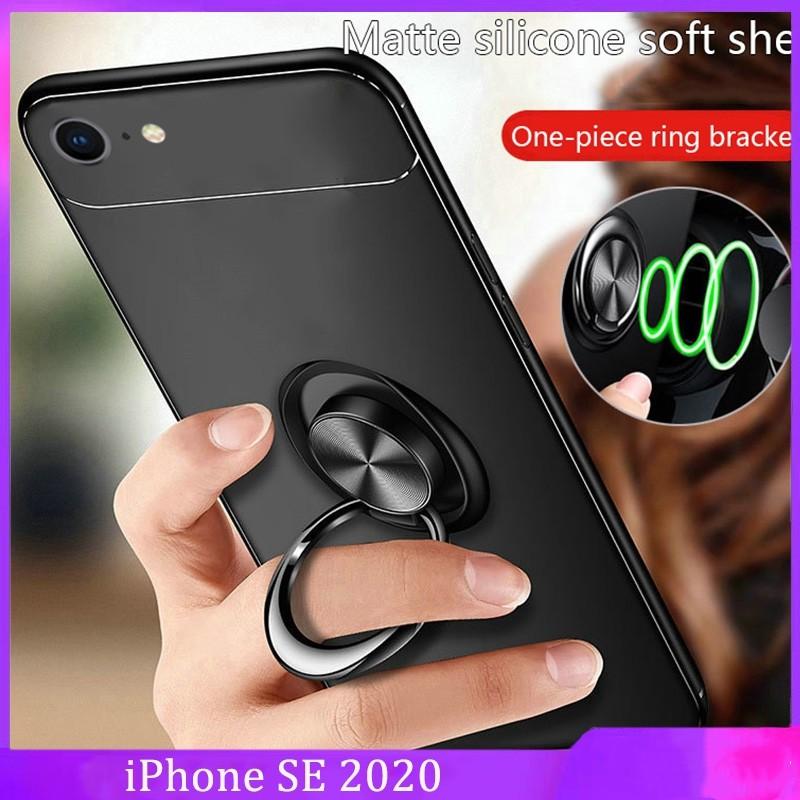 เคสโทรศัพท์มือถือ tpu แบบสองชั้นสําหรับ iphone se 20
