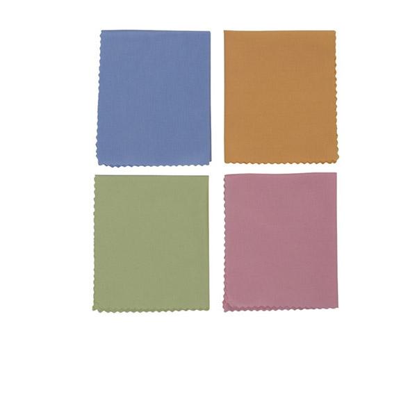 ผ้าไมโครไฟเบอร์สำหรับทำความสะอาดกีตาร์ 1 ชิ้น สีแบบสุ่ม