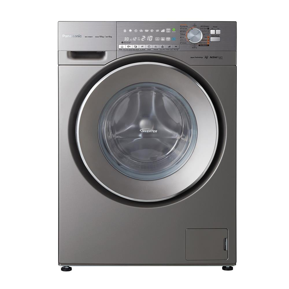 Washing machine WASHER & DRYER PANASONIC NA-S106X1LTH 10/6KG INVERTER Washing machine Electrical appliances เครื่องซักอบ