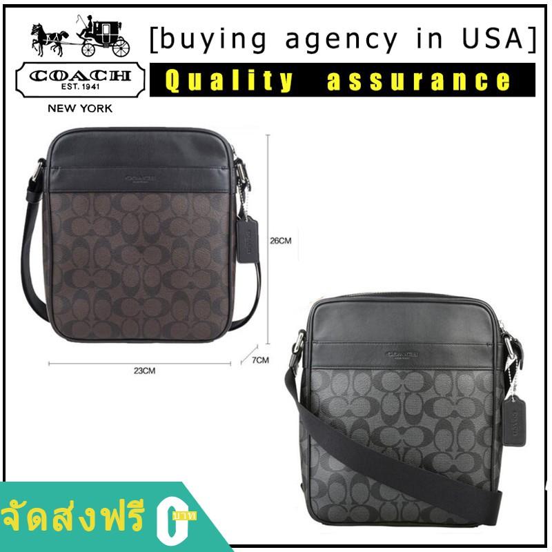 COACH F54788 bag กระเป๋าสะพายข้าง กระเป๋าผู้ชาย coach กระเป๋าสะพายข้าง กระเป๋ามีซิป