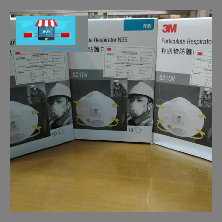 Indrs02N 3m N95 Mask 8210v หน้ากากเครื่องช่วยหายใจ / 3 เมตร N95 ป้องกันไวรัสมาสก์ Byapr4U X6eO