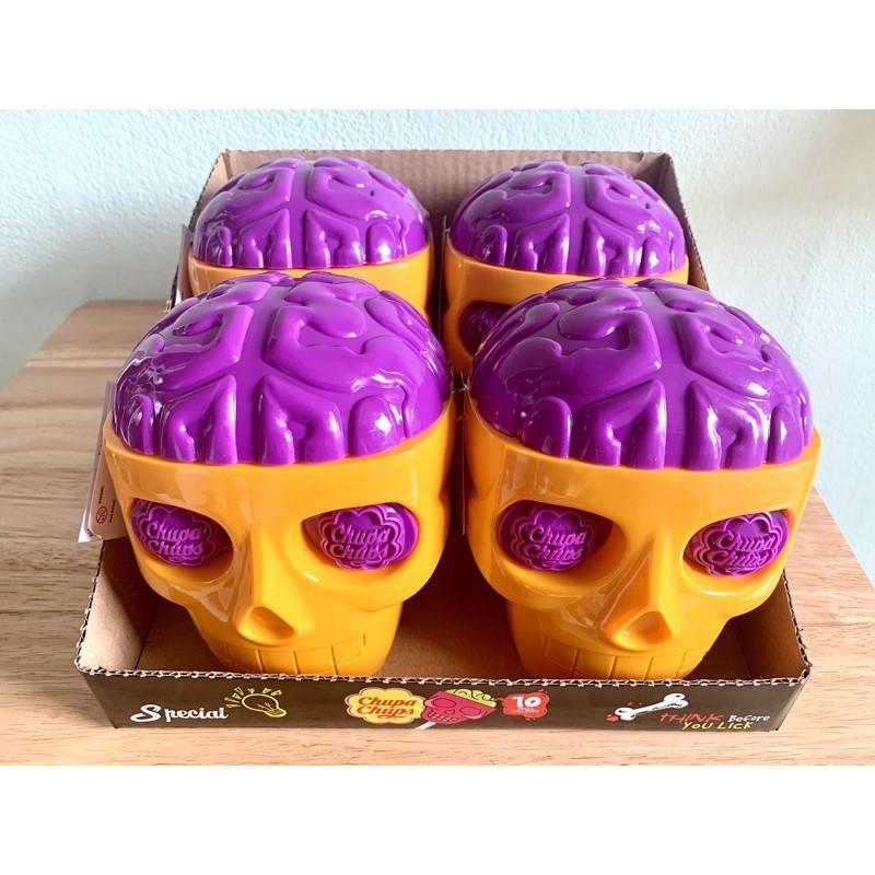 ✇❒Chupa Chups 3D Skull หัวกะโหลก จูปาจุ๊ปส์ / ChupaChups จูปาจุ๊บ สีใหม่!
