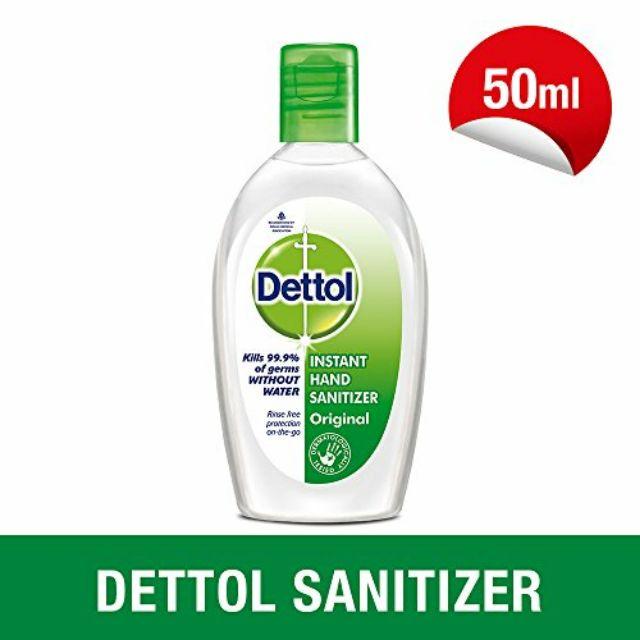 (พร้อมส่ง) Dettol Refreshing Aloe Vera Hand Wash Gel เดทตอล รีเฟรช เจลล้างมืออนามัย สูตรอโรเวล่า ขนาด 50 มล.(1 ขวด)