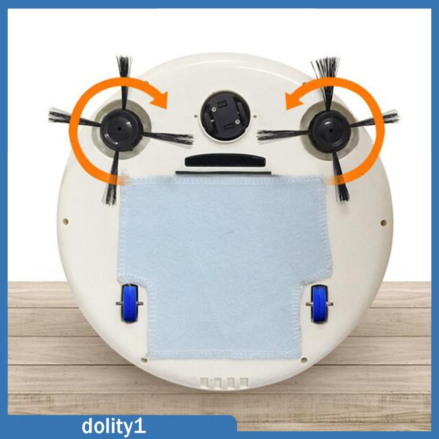 หุ่นยนต์ดูดฝุ่น ♫[dolity1] หุ่นยนต์ดูดฝุ่นอัตโนมัติสําหรับทําความสะอาดพื้นกระเบื้องและ Timber Floor❈