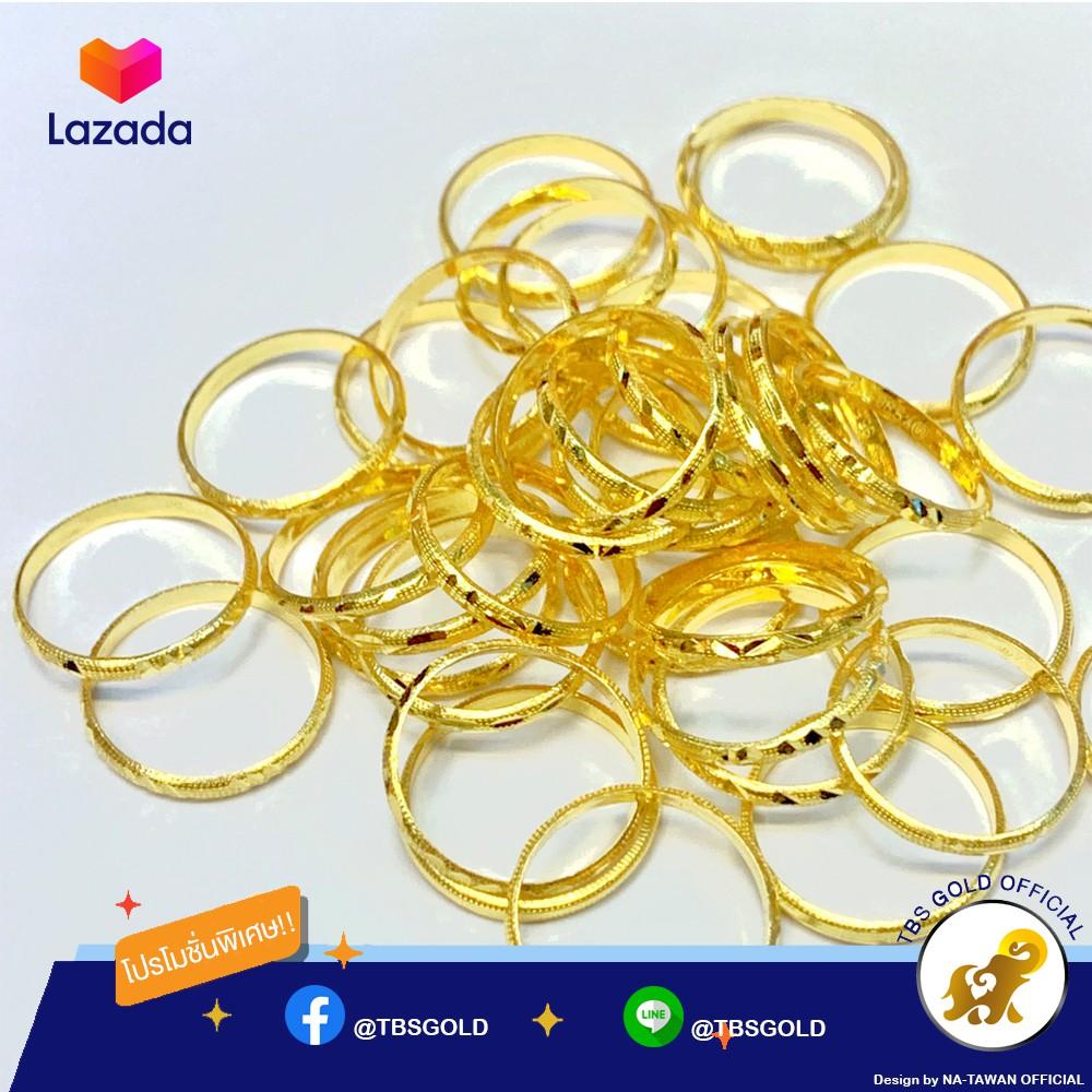 แหวนทองครึ่งสลึง ลายหัวใจ ก้านคู่ น้ำหนัก (1.9 กรัม) ทองแท้ จากเยาวราช น้ำหนักเต็ม ราคาถูกที่สุด ส่งฟรี มีใบรับประกัน