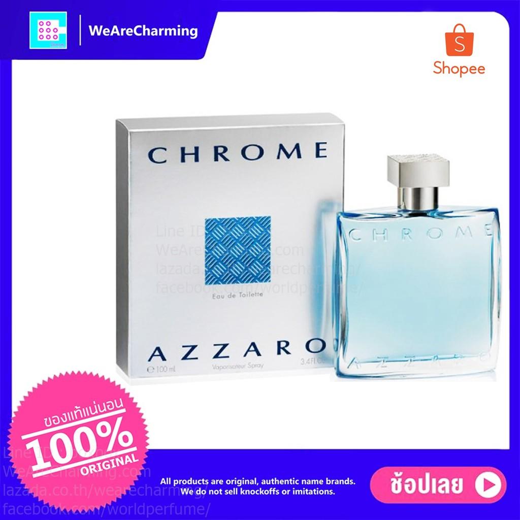Azzaro Chrome EDT 100 ml.