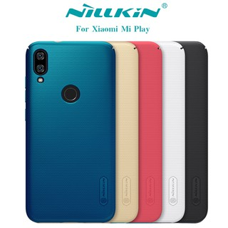 Review NILLKIN เคส Xiaomi Mi Play รุ่น Super Frosted Shield
