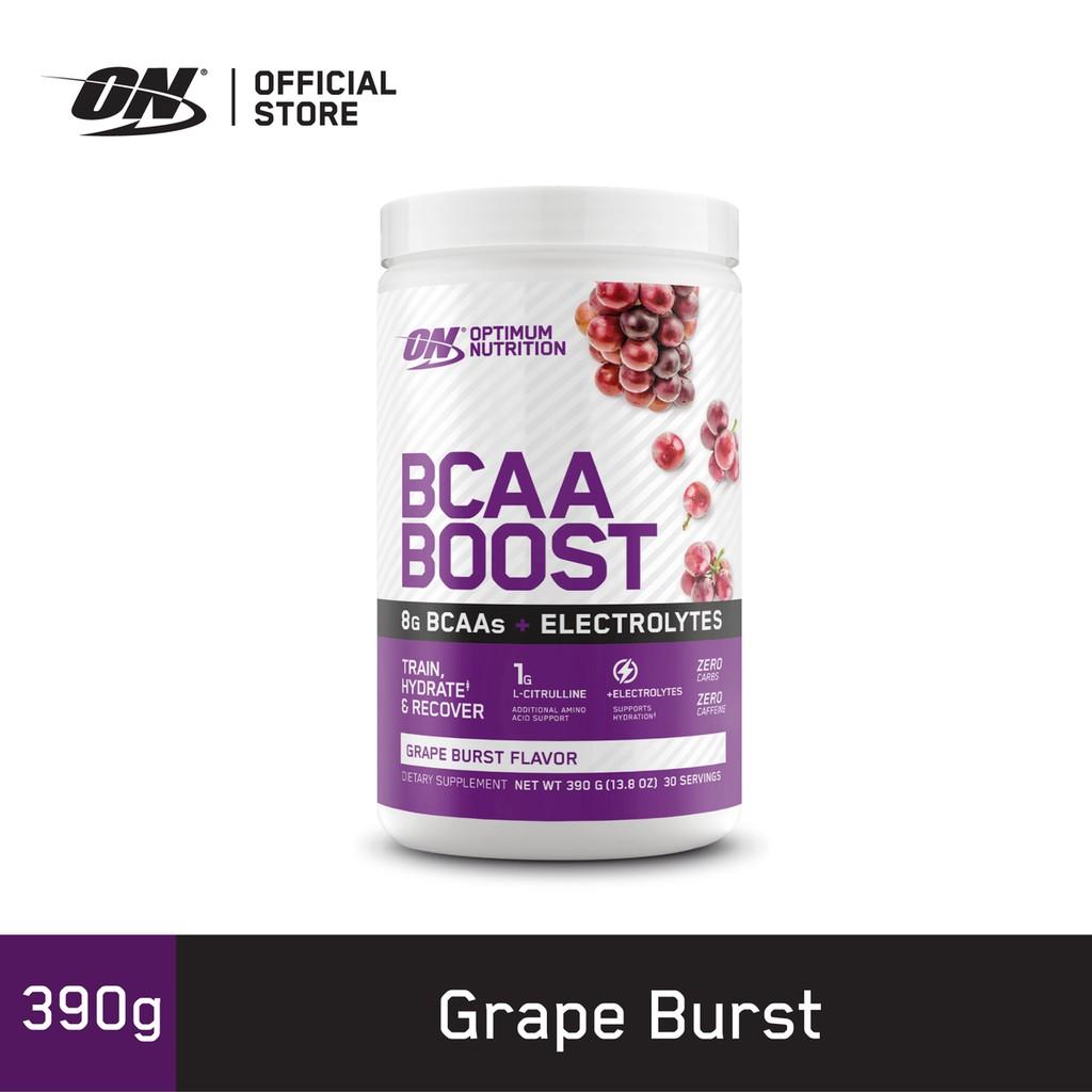 Optimum Nutrition BCAA Boost - 30 Serving, 8 Gram