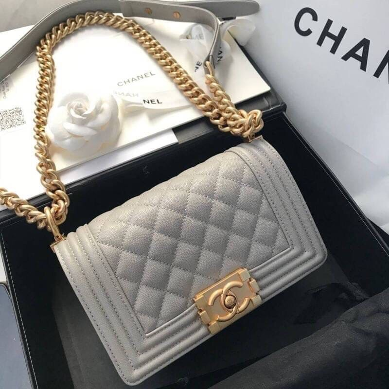 Chanel Boy Bag ออริ ไซส์ : 20cm