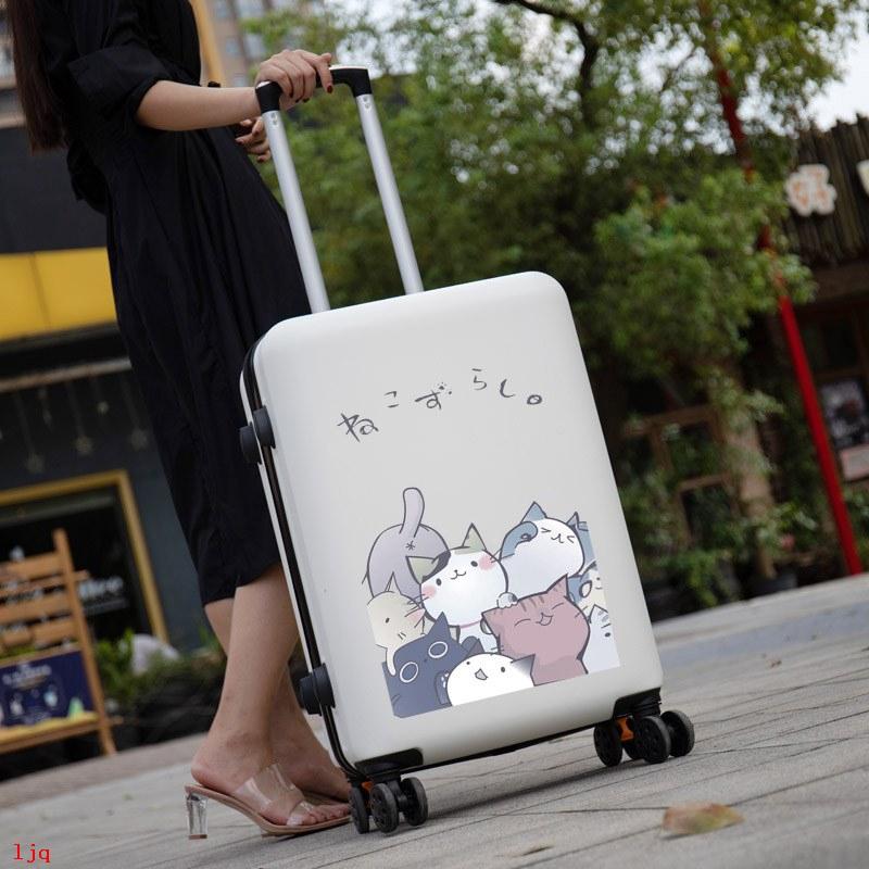 กระเป๋าเดินทางลายการ์ตูนน่ารัก 24 นิ้ว