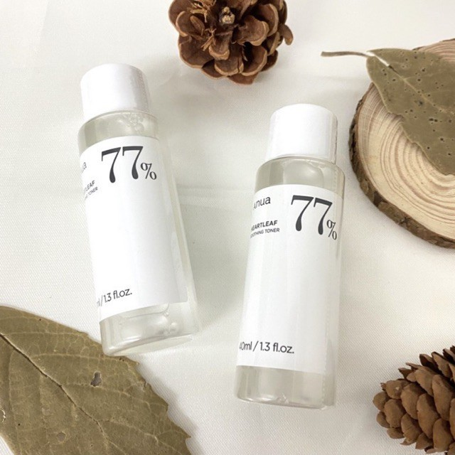 #DHD۞△❤️พร้อมส่ง❤️ Anua heartleaf 77% soothing toner 40 ml.