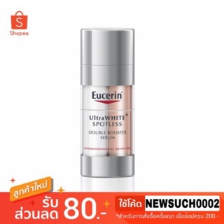 Review Eucerin Ultrawhite Spotless Double Booster Serum 30ml.