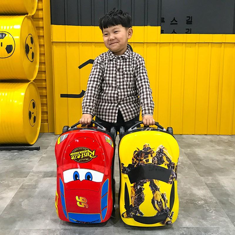 ⅔+กระเป๋าเดินทางเด็กเด็ก 20 นิ้วของเล่นรถเข็นกระเป๋ารถกระเป๋าเดินทางกระเป๋าเดินทางกลางแจ้งมัลติฟังก์ชั่