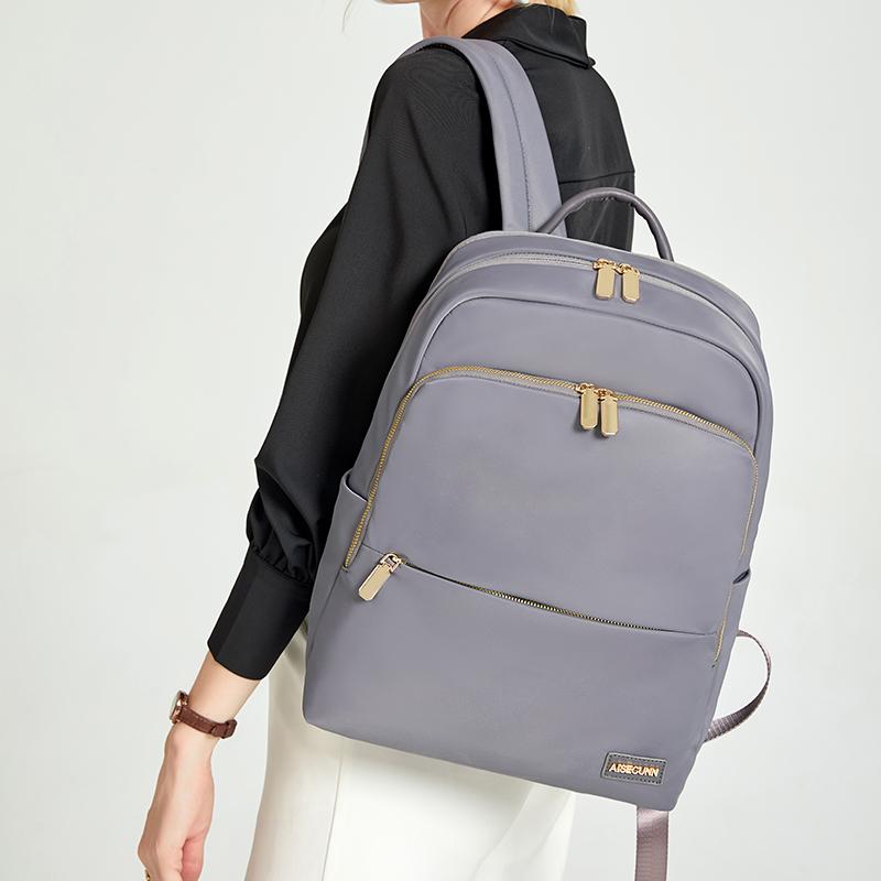 ธุรกิจพร็อพ2021ง่าย14กระเป๋าแล็ปท็อปนิ้วหญิงไหล่เดินทางธุรกิจความจุขนาดใหญ่กระเป๋าเป้สะพายหลังป่า