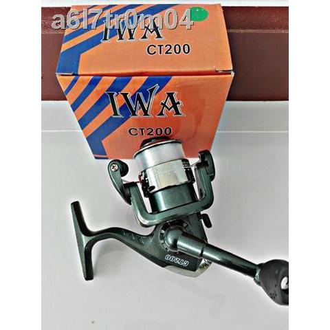 🔥【คันเบ็ด】🔥△┇รอกตกปลารอกเบทรอกสปินนิ่ง IWA CT200 รอกเบอร์ 1000 รอกตกปลาราคาถูกอุปกรณ์ตกปลาคุณภาพสูง