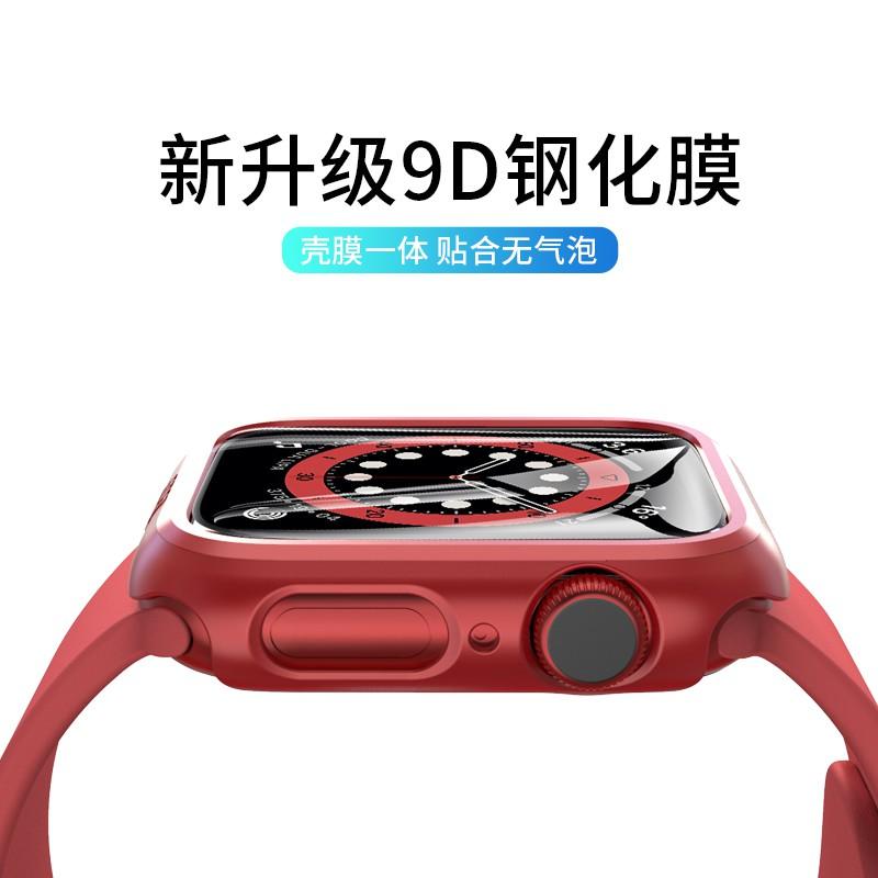 applewatch6 เข็มขัด♀PZOZ เหมาะสำหรับ Apple Watch ปลอกป้องกัน iwatch เปลือกป้องกัน applewatch6 รุ่น se อุปกรณ์เสริม s6