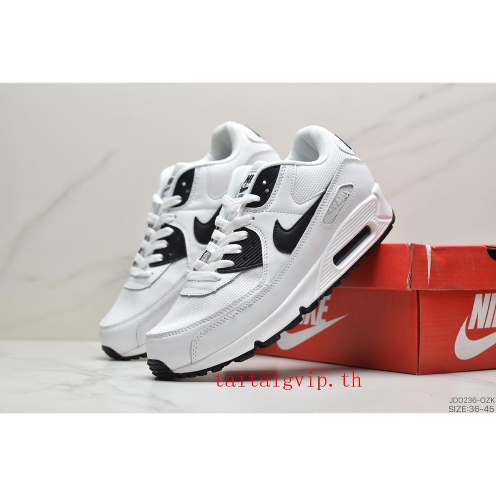 ลดราคา ของแท้ 100% Nike👟Air Max 90 รองเท้าผู้ชาย  รองเท้าสตรี รองเท้าคู่รัก รองเท้าเบาะลม รองเท้ากีฬาที่ทนต่อการสึกหรอ