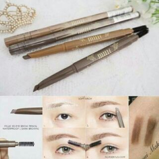 เปรียบเทียบMille 3D Eye brow Pencil Waterproof