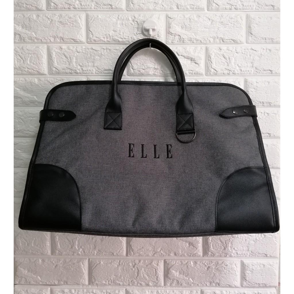 🔥SALE พร้อมส่ง กระเป๋าเดินทาง แบบถือ ELLE ขนาดใหญ่