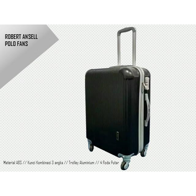 กระเป๋าเดินทางขนาด 4 ล้อขนาด 24 นิ้ว Robert Ansell-2018 Abs