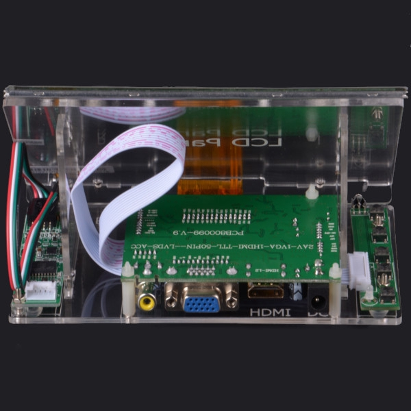 For Raspberry Pi 2 3 B LCD 7inch Touch Screen Module 1024*600 TFT Display HDMI