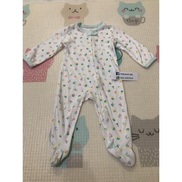 ชุดนอน ชุดหมี คลุมเท้า Baby Lovett