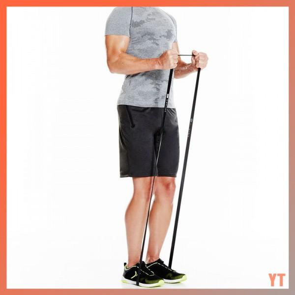 ✔️เตรียมการจัดส่ง✔️ยางยืดออกกำลังกาย ยางยืดออกกำลังกาย ฟิตเนส แรงต้านน้ำหนัก 5-60 กก. Domyos แท้ % 28GJ