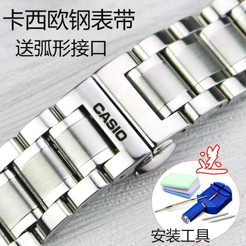 Casio สายนาฬิกาข้อมือสแตนเลส Bem501 / 506 / 507