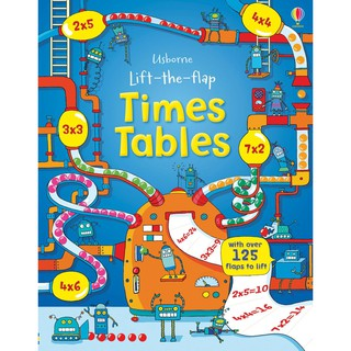 Review Usborne Lift the Flap Time table