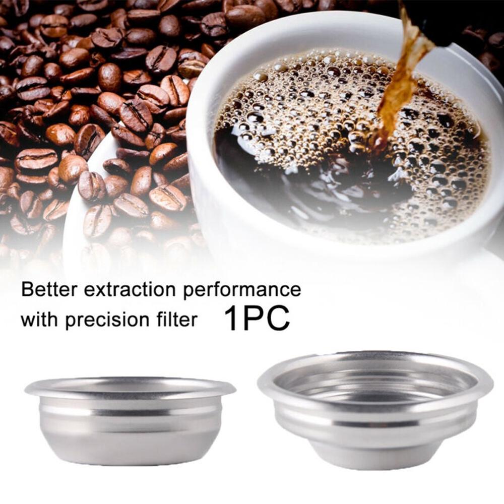 ตัวกรองไม่เป็นสนิม 58 มม. สำหรับเครื่องทำกาแฟเอสเปรสโซ่ กึ่งอัตโนมัติ