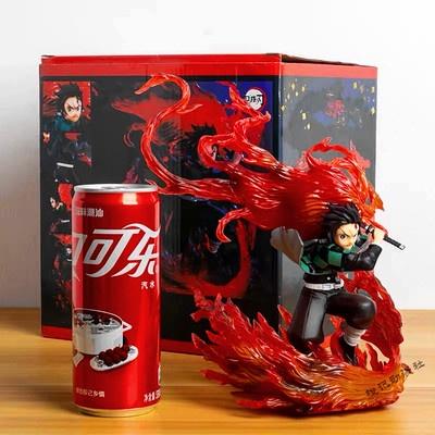 20cm Demon Slayer Kamado Tanjirou PVC Figure Model Toy URzO
