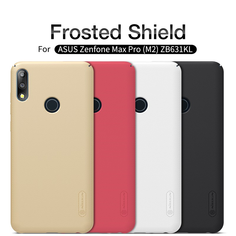 Image # 0 of Review NILLKIN เคส Asus Zenfone Max Pro M2 (ZB631KL) รุ่น Super Frosted Shield
