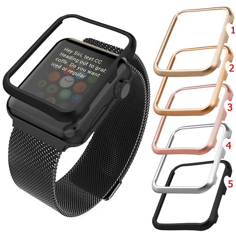 เคส Apple Watch Case 38mm 42mm 40mm 44mm ,iwatch series 1/2/3/4/5 Aluminum Alloy