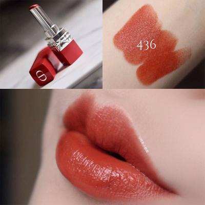 ≧Κ🔥จัดส่งที่รวดเร็ว🔥ดินสอเขียนคิ้ว ของแท้ Dior Dior Lipstick ขนาดกลางตัวอย่างขนาดกลางเคาน์เตอร์999แบรนด์ใหญ่888มินิให้