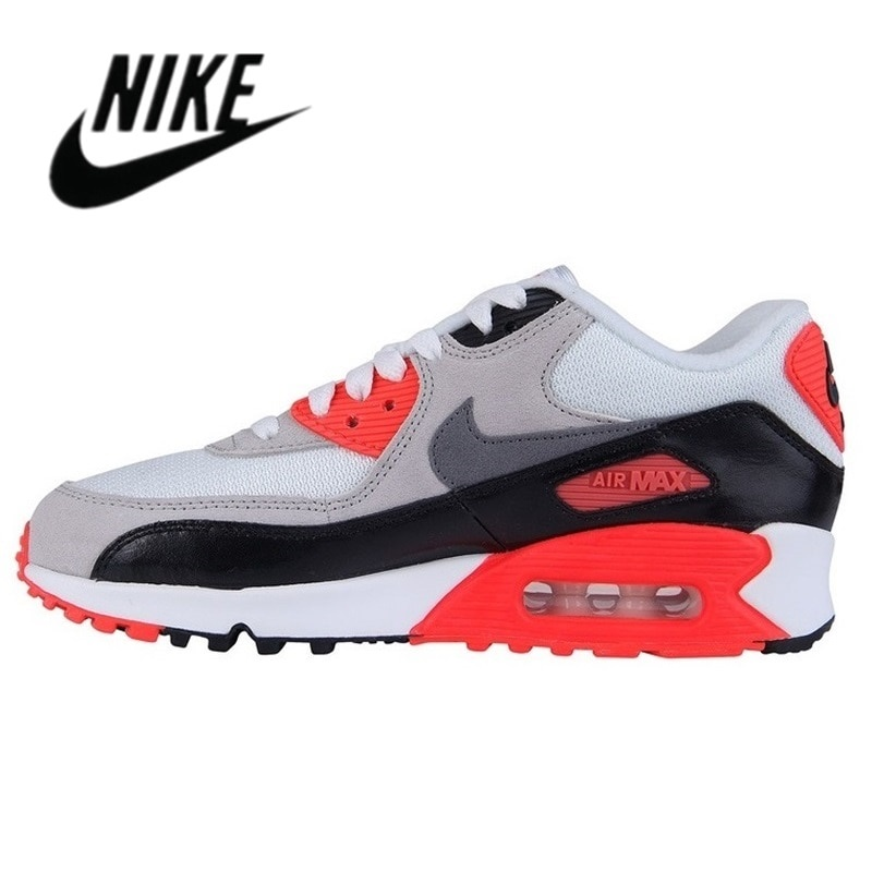 2021 Nike-Air Max 90 Airmax คลาสสิกสีดำสีขาวผู้ชายผู้หญิงสีแดงสีขาวสีดำสีฟ้าสใบรองเท้าวิ่ง