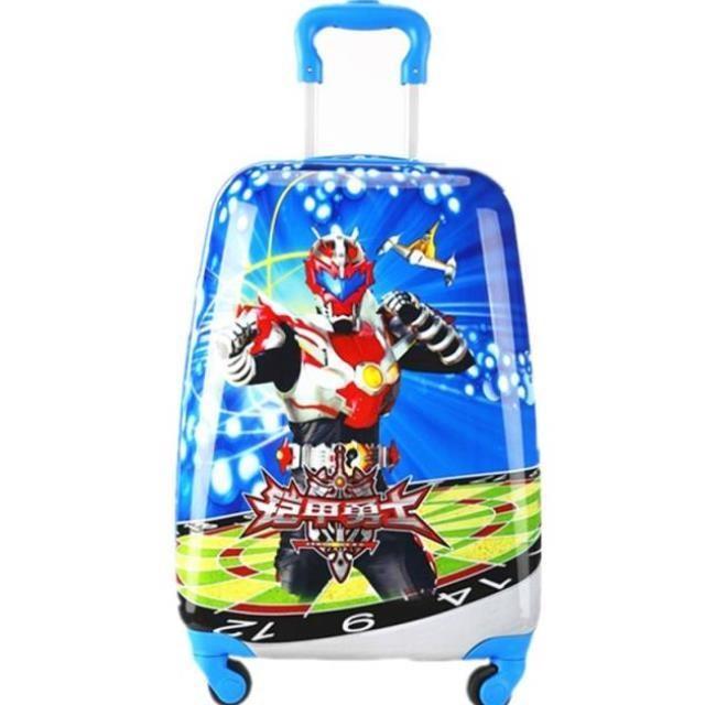 ♓≕ กระเป๋าเดินทางล้อลาก กระเป๋าเดินทางล้อลากใบเล็กรถเข็นกระเป๋าผู้หญิงแบบdual-ใช้กระเป๋าพัตเตอร์เด็กผู้ชายเด็กเดินทางของ