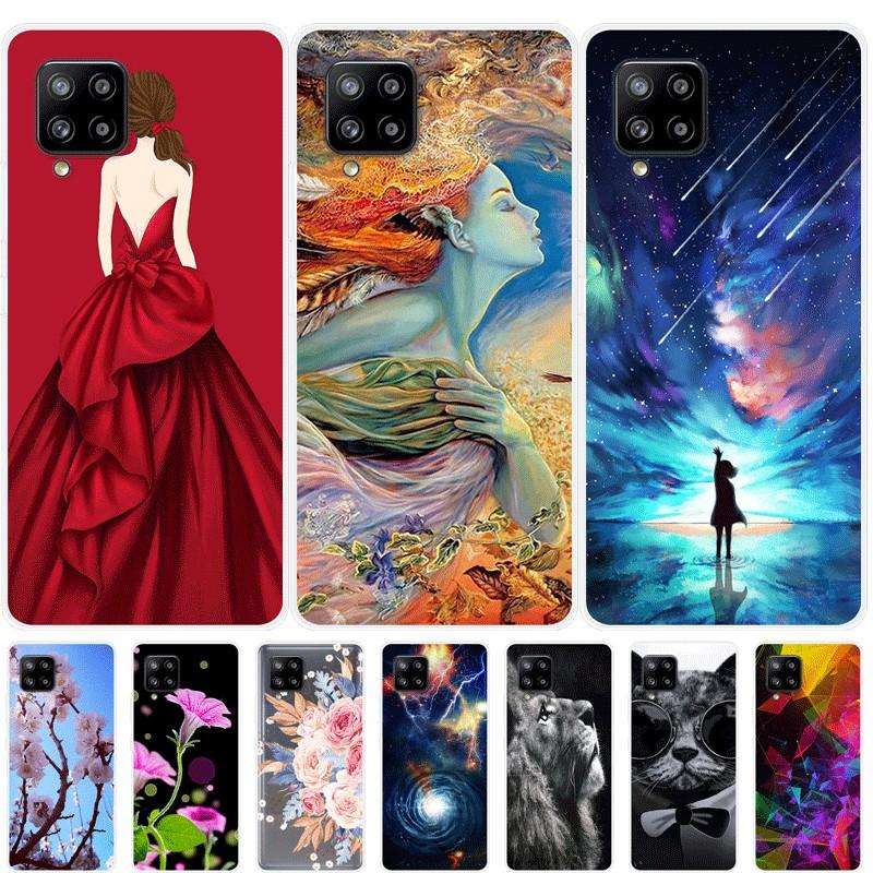 เคสสำหรับ Samsung Galaxy A42 5G เคสซิลิโคน Soft Back Cover เคส Samsung A42 5G Case Silicone