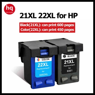 HP21 hp21hp 22 cartridge HP f2100 2200 3920 4355 f2235 2180 2280 d1360 1460 printer cartridge easy inking black color