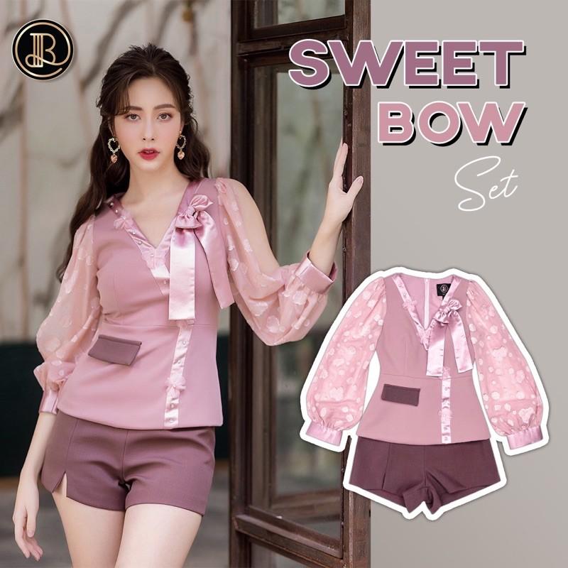 Sweet Bow Set:BLT Brand เซทกางเกง สวยน่ารักมากๆ