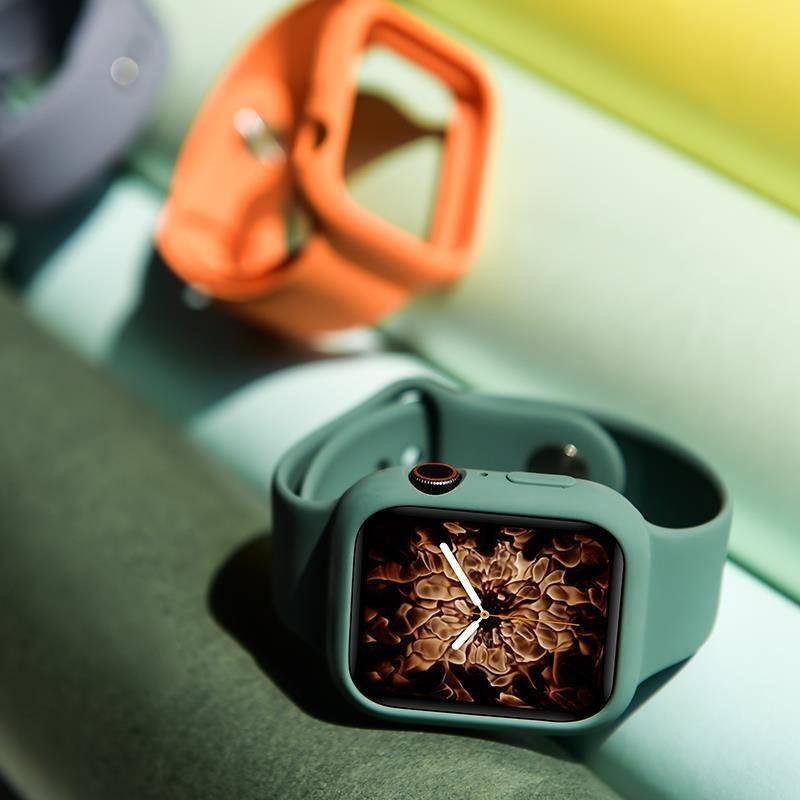 Yule เคสนาฬิกาข้อมือพร้อมกรอบเคสสําหรับ Applewatch5 Applewatch5 3
