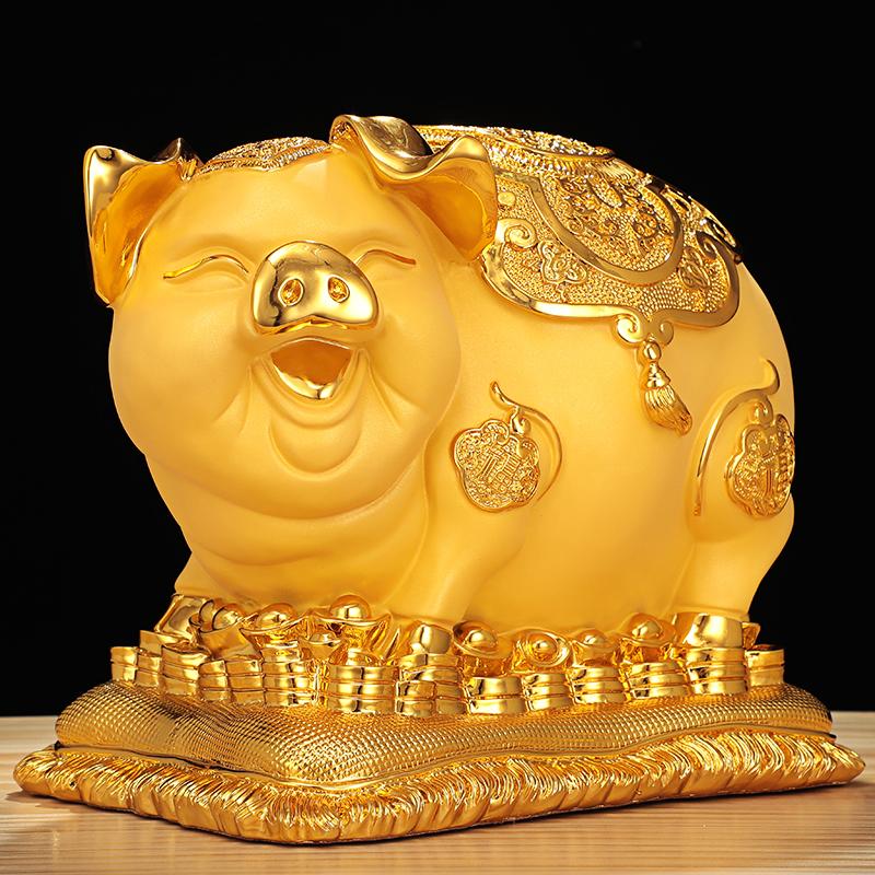 チ☼กระปุกออมสินเด็กกระปุกออมสิน atmกระปุกออมสินหมูทองขนาดใหญ่สร้างสรรค์ผู้ใหญ่ที่ใช้ในครัวเรือนกระปุกออมสินเด็กไม่สามารถป